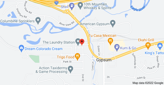 Map of 437 Railroad Ave, Gypsum, CO 81637, USA