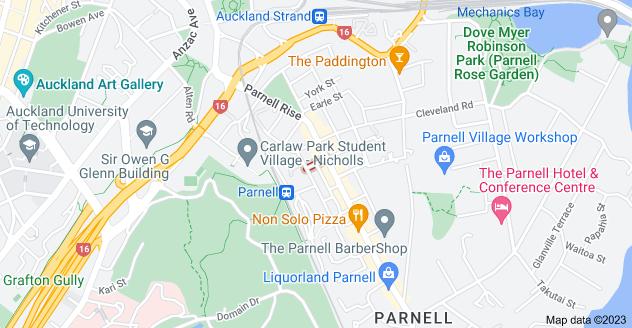 Location of Akaroa Street