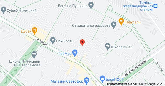 ул. Нариманова, 19, Волжский, Волгоградская обл., 404125: карта