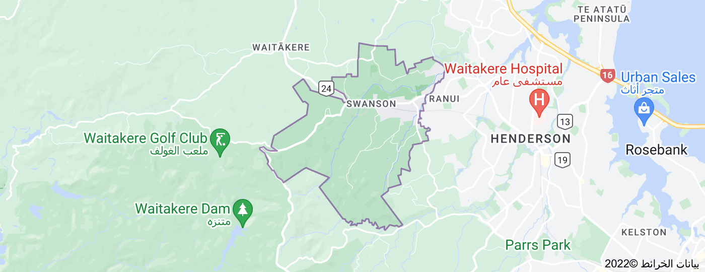 Location of Swanson