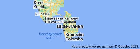 Location of Шри-Ланка