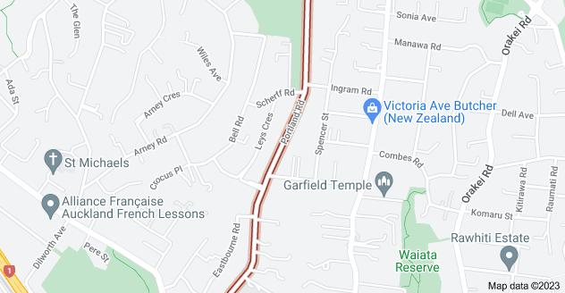 Location of Portland Road