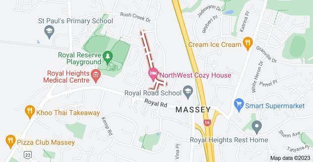 Location of Mcwhirters Farm Lane