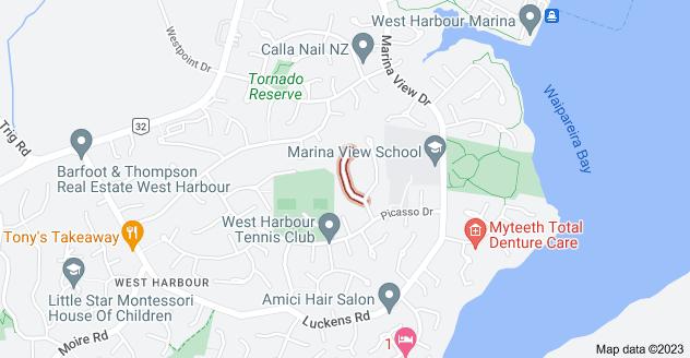 Location of Rosetti Rise