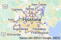 Location of Hjūstona