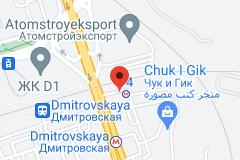 Location of Dmitrovskaya