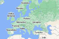 Location of Evropa