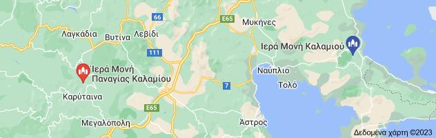 Χάρτης του/της ΙΕΡΑ ΜΟΝΗ ΚΑΛΑΜΙΟΥ