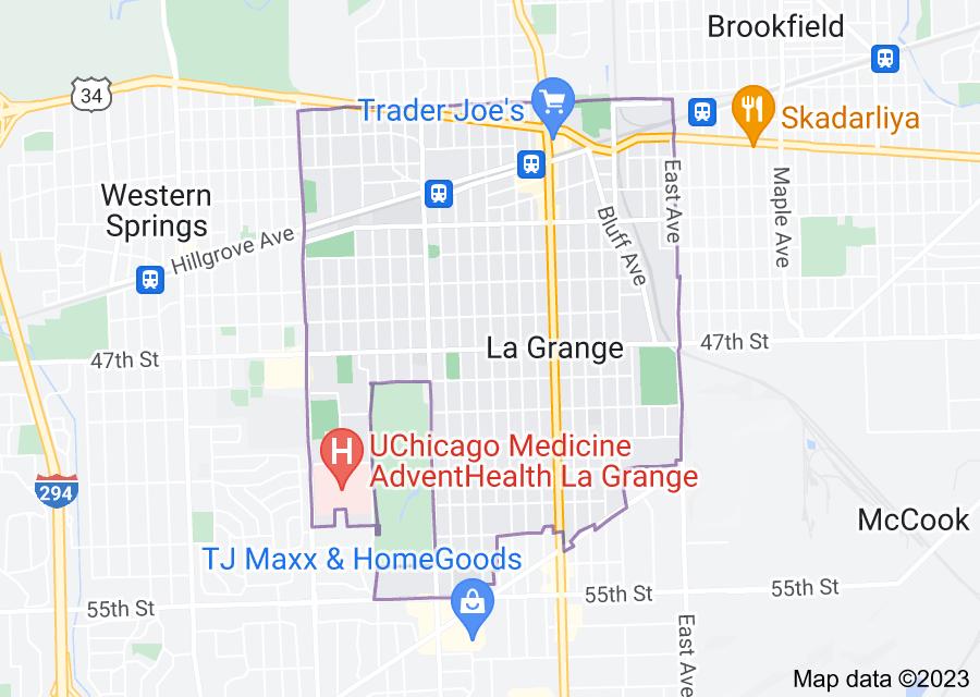 Location of La Grange