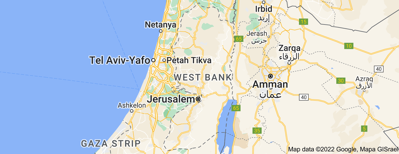 Location of West Bank