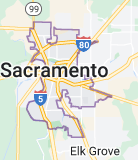 Map of Sacramento