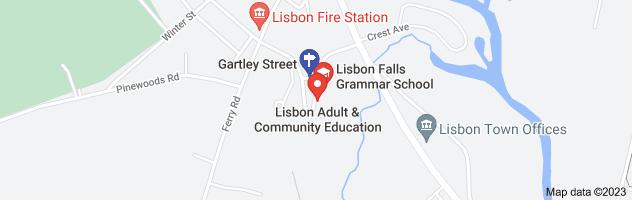Map of gartley street school