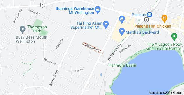 Location of Malone Road