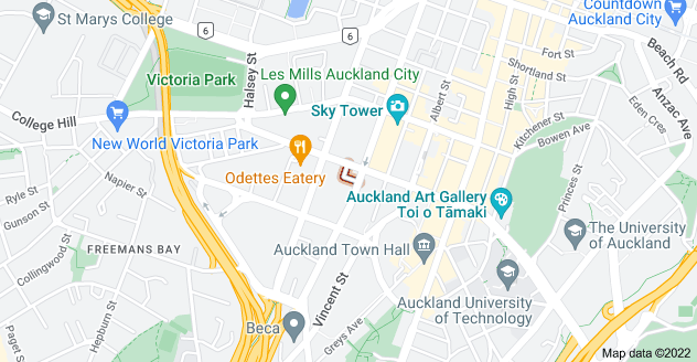 Location of Pacific Place