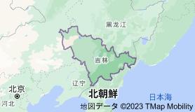吉林省の地図