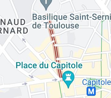 Boutiques rue du Taur Toulouse