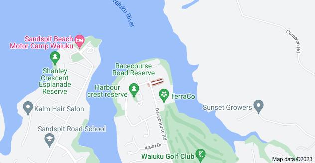 Location of Koromiko Place