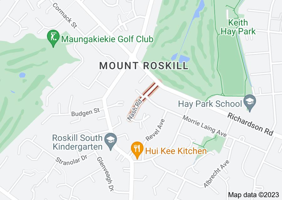 Location of Nash Road