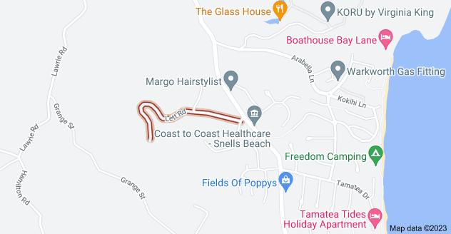 Location of Lett Road