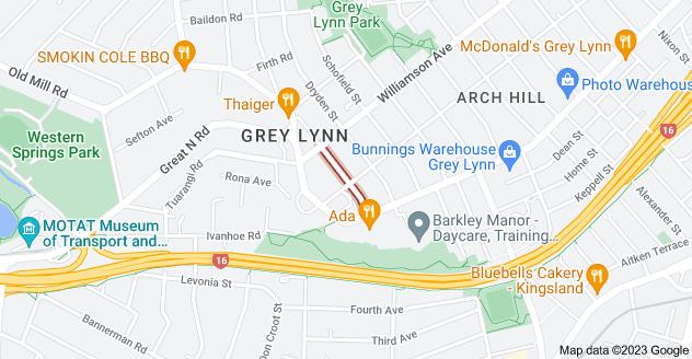 Location of Coleridge Street