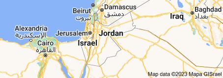 Location of Jordan