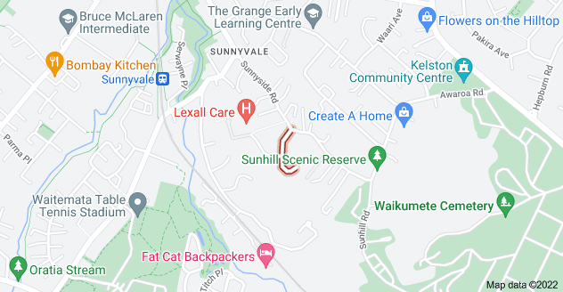 Location of McKinley Road