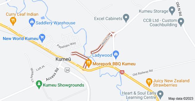 Location of Weza Lane
