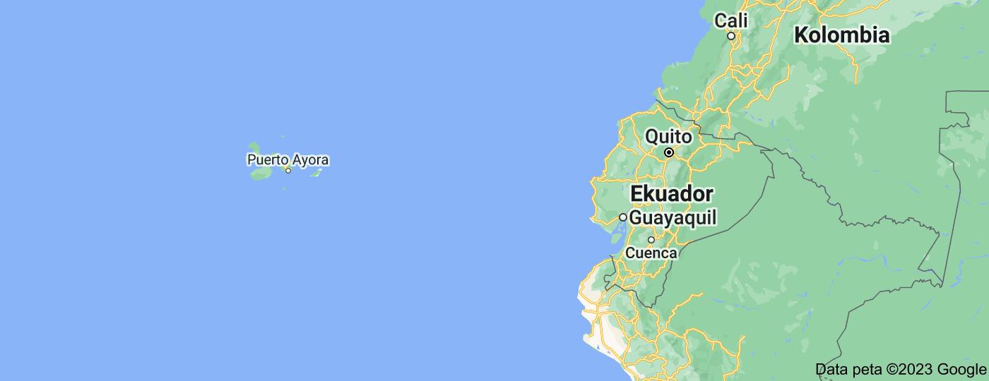 Location of Ekuador