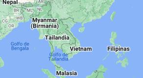 Location of Vietnam