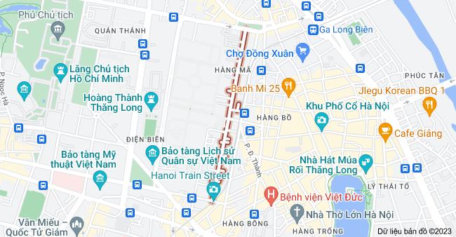 Bản đồ của Lý Nam Đế, Hà Nội