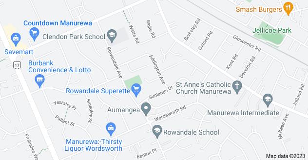 Location of Harrow Place