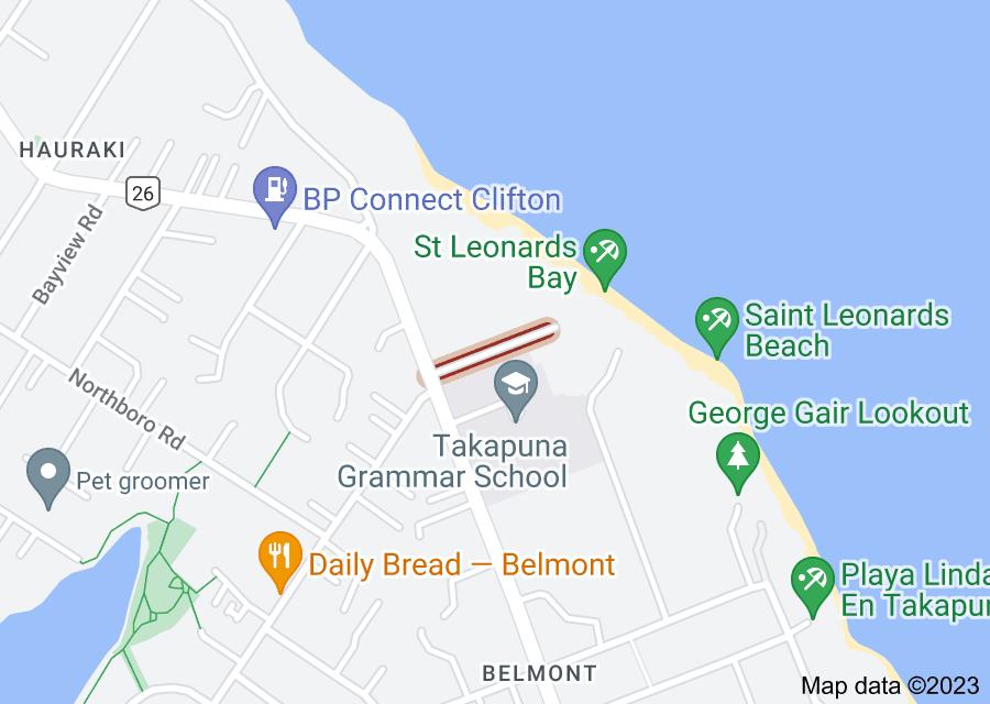 Location of Saint Leonards Road