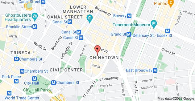 Map of 62 Mott St, New York, NY 10013