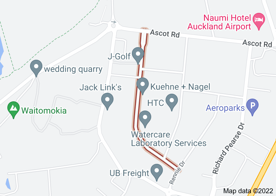 Location of Aintree Avenue