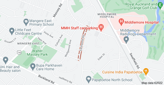 Location of Earlsworth Road
