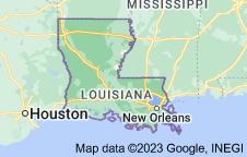 Location of Louisiana