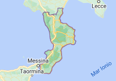 Mappa di: Calabria