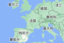 Location of 法国
