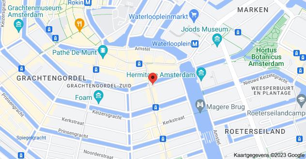 Kaart van Herengracht 560, Amsterdam