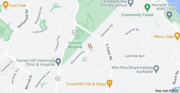 Location of Christensen Place