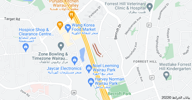Location of Newport Place