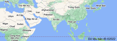 Location of Ấn Độ