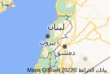 Location of لبنان