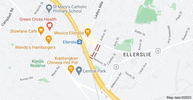 Location of Ramsgate Street