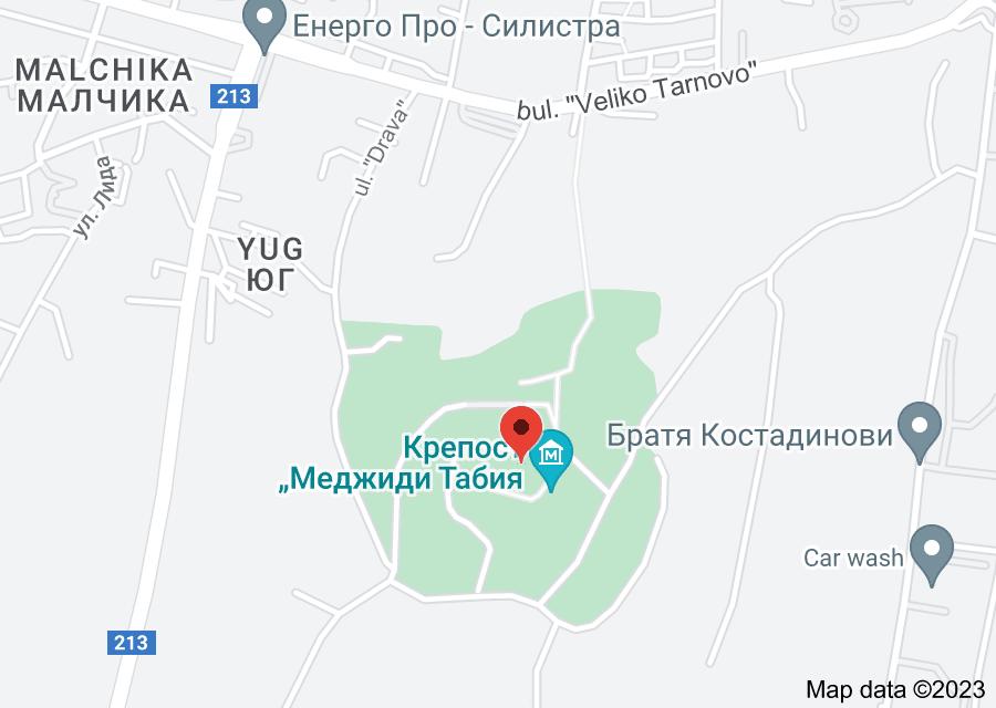 Location of Medzhidi Tabiya Fortress