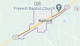 Map of Raiford, Florida