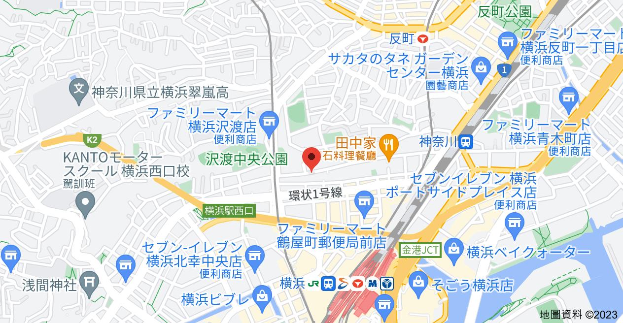 日本〒221-0835 Kanagawa, Yokohama, Kanagawa-ku, Tsuruyachō, 2-chōme−27-7 ピュアハイツ台町地圖