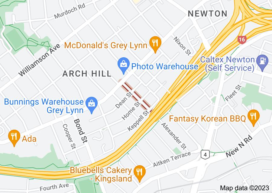 Location of Brisbane Street