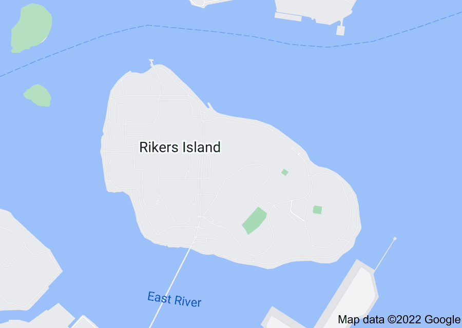 Location of Rikers Island