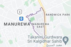 Location of Manurewa East